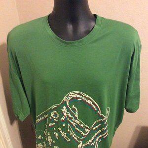 Men's Under Armour Heat Gear T-Shirt sz 2XL
